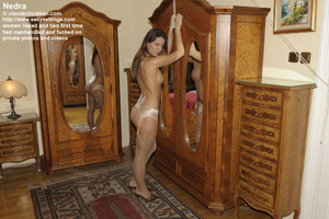 Elegant Nedra in light pink stockings an - XXX Dessert - Picture 2