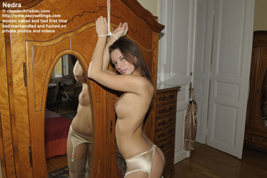 Elegant Nedra in light pink stockings an - XXX Dessert - Picture 3