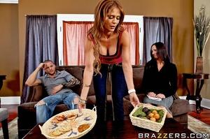 Monique hosts a PTA meeting in her home  - XXX Dessert - Picture 5