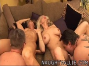 two couples swap spouses