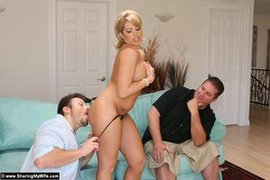 Horny slut wives fuck new men while hubb - XXX Dessert - Picture 13