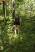 spying peeing forest teen