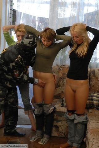 superb teen babes spanked