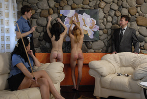 Young girls punished hard for misbehavio - XXX Dessert - Picture 4