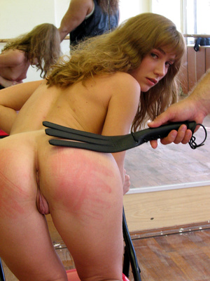 Milf wearing nylons gets spanked