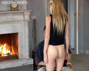 Cute ass spank pic