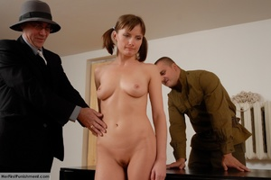 Teen babe gets in custody for a hard spa - XXX Dessert - Picture 3