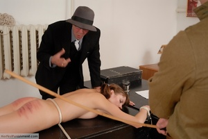 Teen babe gets in custody for a hard spa - XXX Dessert - Picture 5