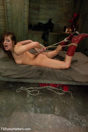 Perfect body cowgirl gets tied up and bu - XXX Dessert - Picture 15