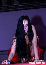 dark haired sexy babe