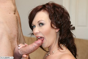 Beautiful Busty Wife Fucks In Front of H - XXX Dessert - Picture 8