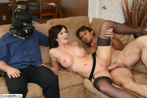 Beautiful Busty Wife Fucks In Front of H - XXX Dessert - Picture 11