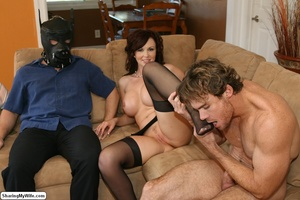 Beautiful Busty Wife Fucks In Front of H - XXX Dessert - Picture 13