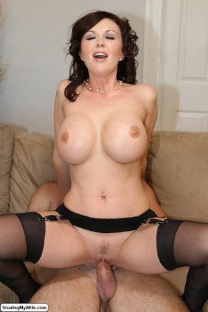 Beautiful Busty Wife Fucks In Front of H - XXX Dessert - Picture 16