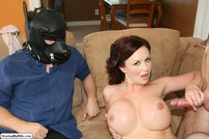 Beautiful Busty Wife Fucks In Front of H - XXX Dessert - Picture 20