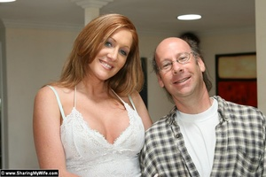 Hot Redhead Wife Gets Stuffed With New C - XXX Dessert - Picture 1