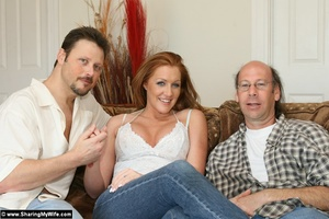 Hot Redhead Wife Gets Stuffed With New C - XXX Dessert - Picture 2