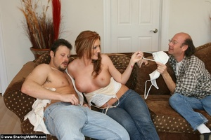 Hot Redhead Wife Gets Stuffed With New C - XXX Dessert - Picture 5