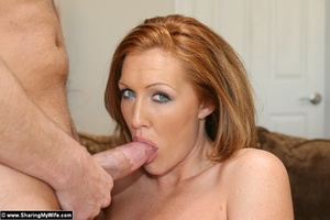 Hot Redhead Wife Gets Stuffed With New C - XXX Dessert - Picture 8