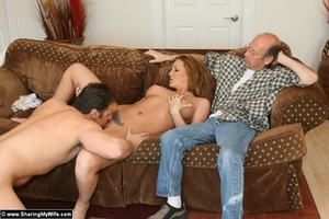 Hot Redhead Wife Gets Stuffed With New C - XXX Dessert - Picture 9
