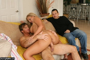 Hot Busty Blonde Babe Gets Some New Cock - XXX Dessert - Picture 15