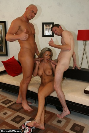 Hot Blonde Wife Sucks Another Man's Dick - XXX Dessert - Picture 16