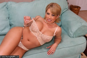 Blonde Wife Brooke Gets Shared with anot - XXX Dessert - Picture 7