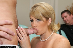 Blonde Wife Brooke Gets Shared with anot - XXX Dessert - Picture 13
