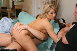 Blonde Wife Brooke Gets Shared with anot - XXX Dessert - Picture 10