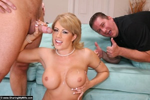 Blonde Wife Brooke Gets Shared with anot - XXX Dessert - Picture 16
