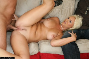 Blonde Wife Gets Shared with Another Man - XXX Dessert - Picture 15