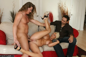 Blonde Wife Gets Shared with Another Man - XXX Dessert - Picture 16