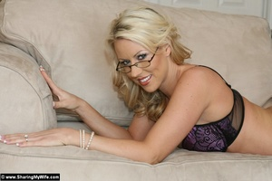 Blonde Wife Carolyn Gets Shared with ano - XXX Dessert - Picture 7