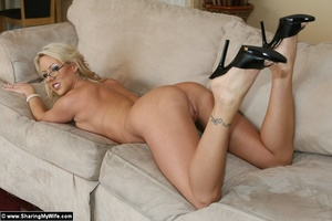 Blonde Wife Carolyn Gets Shared with ano - XXX Dessert - Picture 12