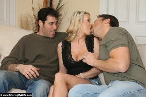 Blonde Slut Wife Takes On New Bigger Coc - XXX Dessert - Picture 3