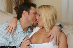 Sexy Busty Blonde Wife Gets Fucked - XXX Dessert - Picture 4