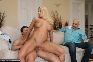 Sexy Busty Blonde Wife Gets Fucked - XXX Dessert - Picture 15