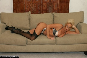 Hot Wife TJ Strips and Fucks a New Guy - XXX Dessert - Picture 6