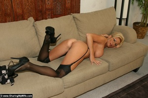 Hot Wife TJ Strips and Fucks a New Guy - XXX Dessert - Picture 13
