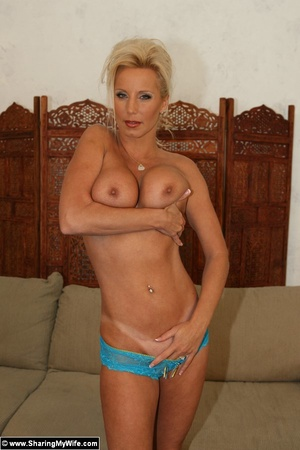 Hot Wife TJ Strips and Fucks - XXX Dessert - Picture 3