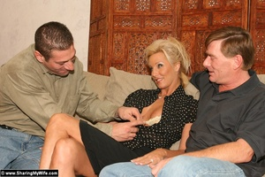 Hot Busty Blonde Gets New Cock - XXX Dessert - Picture 3