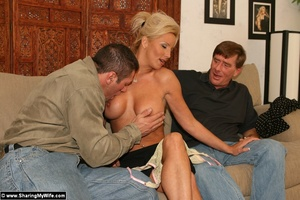 Hot Busty Blonde Gets New Cock - XXX Dessert - Picture 4