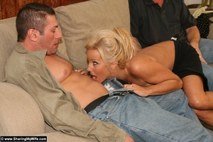Hot Busty Blonde Gets New Cock - XXX Dessert - Picture 6
