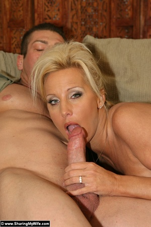 Hot Busty Blonde Gets New Cock - XXX Dessert - Picture 8