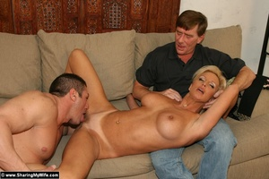 Hot Busty Blonde Gets New Cock - XXX Dessert - Picture 9