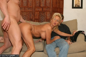 Hot Busty Blonde Gets New Cock - XXX Dessert - Picture 11