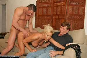 Hot Busty Blonde Gets New Cock - XXX Dessert - Picture 13