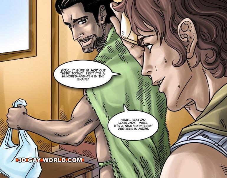 Gay porn in cartoon-6397