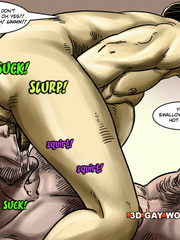 Two guys doing a nice 69 in gay male cartoons. Tags: - Picture 15