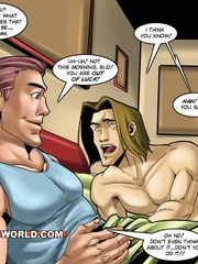 Nice morning gay fuck on cartoon porn. Tags: adult - Picture 3